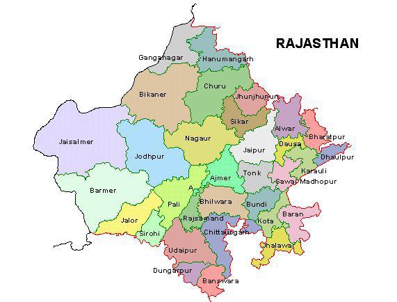 map-of-rajasthan
